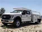 2018 F-550 Crew Cab DRW 4x2,  Scelzi Contractor Body #FJ3015 - photo 1