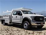 2018 F-550 Crew Cab DRW 4x2,  Scelzi CTFB Contractor Body #FJ3015 - photo 6