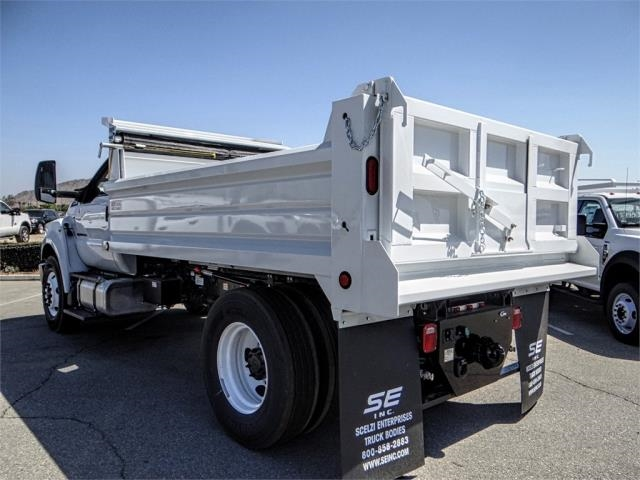 2018 F-750 Regular Cab DRW 4x2,  Scelzi Dump Body #FJ3454 - photo 2