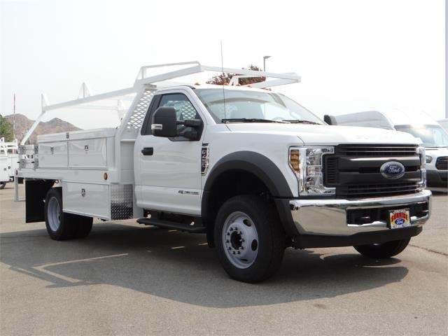 2018 F-450 Regular Cab DRW 4x2,  Scelzi Contractor Body #FJ3726 - photo 6
