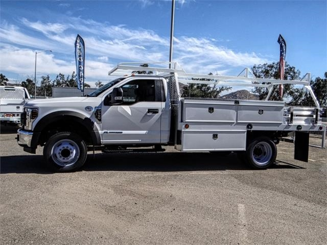 2018 F-550 Regular Cab DRW 4x2,  Scelzi Contractor Body #FJ3793 - photo 3