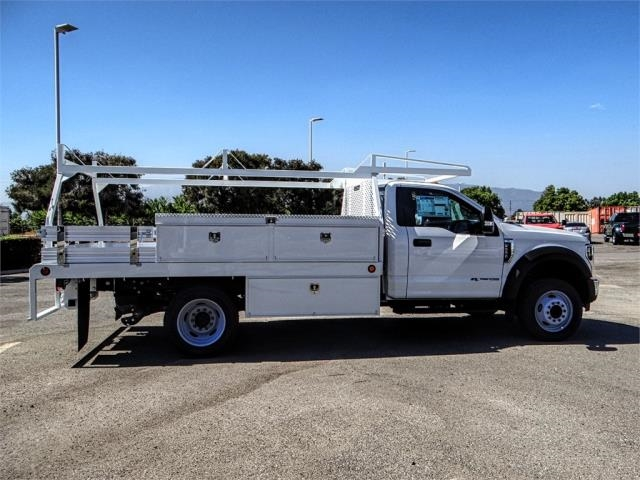 2018 F-550 Regular Cab DRW 4x2,  Scelzi Contractor Body #FJ3793 - photo 5