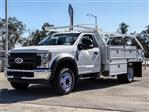 2018 F-550 Regular Cab DRW 4x2,  Scelzi Contractor Body #FJ3793 - photo 1