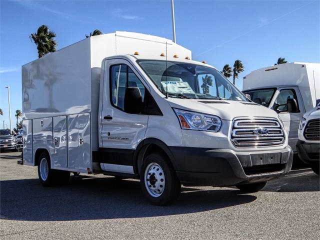 2018 Transit 350 HD DRW 4x2,  Harbor Service Utility Van #FJ4517 - photo 6