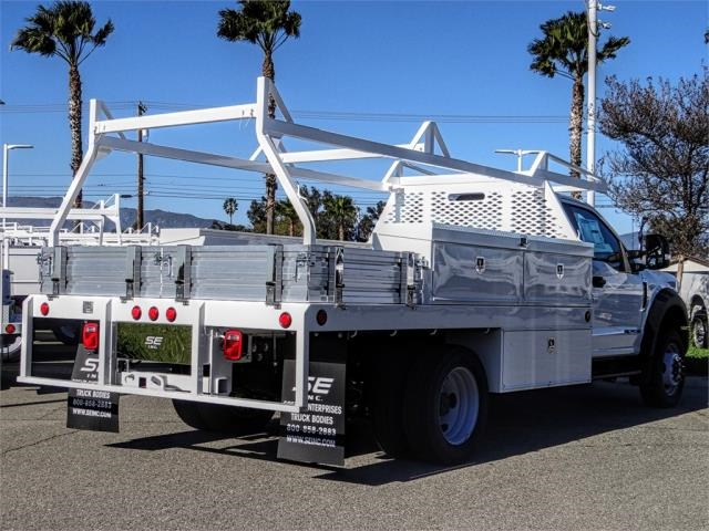 2018 F-550 Regular Cab DRW 4x2,  Scelzi Contractor Body #FJ4908DT - photo 4