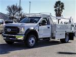 2018 F-550 Regular Cab DRW 4x2,  Scelzi Contractor Body #FJ4908DT - photo 1