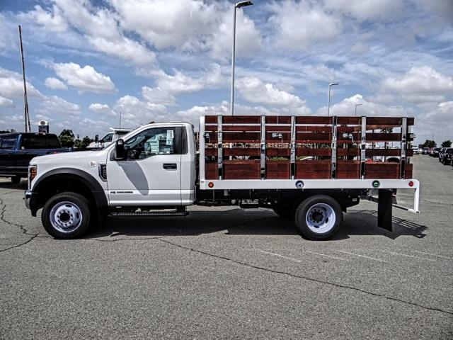 2018 F-450 Regular Cab DRW 4x2,  Scelzi WFB Stake Bed #FJ4964DT - photo 2