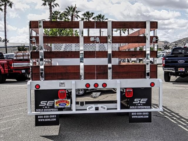 2018 F-450 Regular Cab DRW 4x2,  Scelzi WFB Stake Bed #FJ4964DT - photo 4
