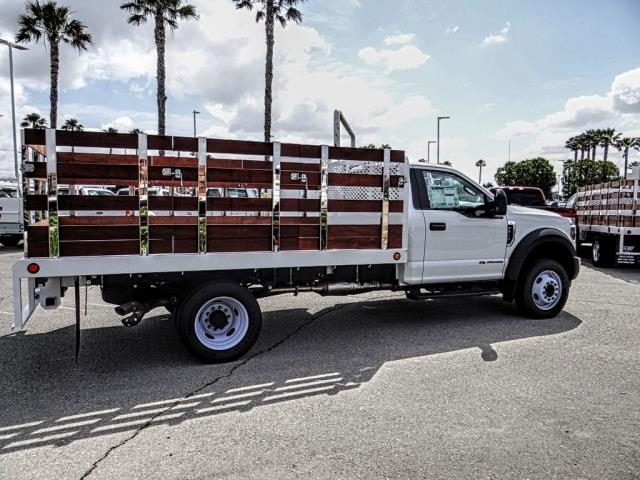 2018 F-450 Regular Cab DRW 4x2,  Scelzi WFB Stake Bed #FJ4964DT - photo 6