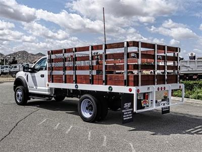 2018 F-450 Regular Cab DRW 4x2,  Scelzi WFB Stake Bed #FJ4964DT - photo 3