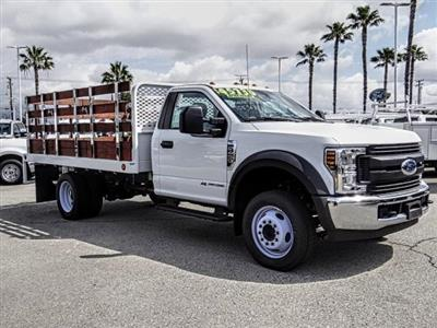 2018 F-450 Regular Cab DRW 4x2,  Scelzi WFB Stake Bed #FJ4964DT - photo 7