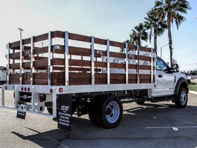 2019 F-450 Regular Cab DRW 4x2,  Scelzi Stake Bed #FK0149 - photo 4