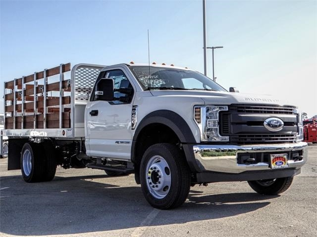 2019 F-450 Regular Cab DRW 4x2,  Scelzi Stake Bed #FK0149 - photo 6