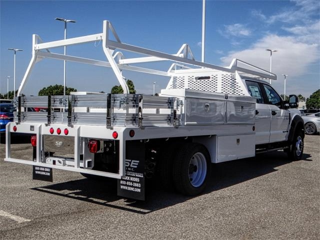 2019 F-450 Crew Cab DRW 4x2,  Scelzi Contractor Body #FK0151 - photo 4