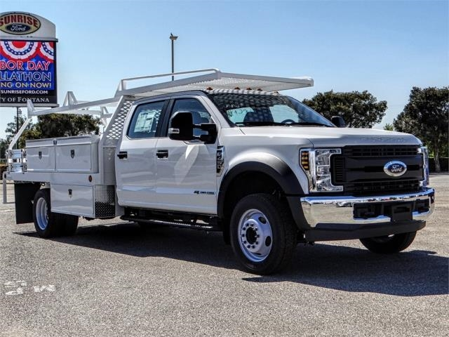 2019 F-450 Crew Cab DRW 4x2,  Scelzi Contractor Body #FK0151 - photo 6
