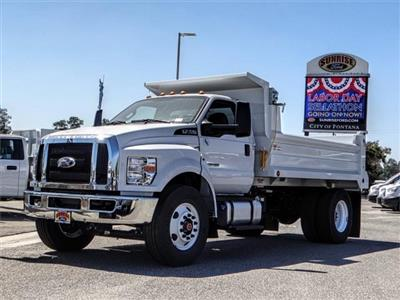 2019 F-750 Regular Cab DRW 4x2,  Scelzi Dump Body