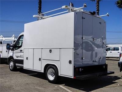 2019 Transit 350 HD DRW 4x2,  Harbor WorkMaster Service Utility Van #FK0224 - photo 2