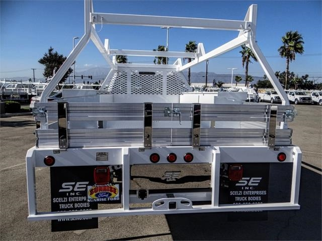 2019 F-450 Regular Cab DRW 4x2,  Scelzi Contractor Body #FK0433 - photo 9