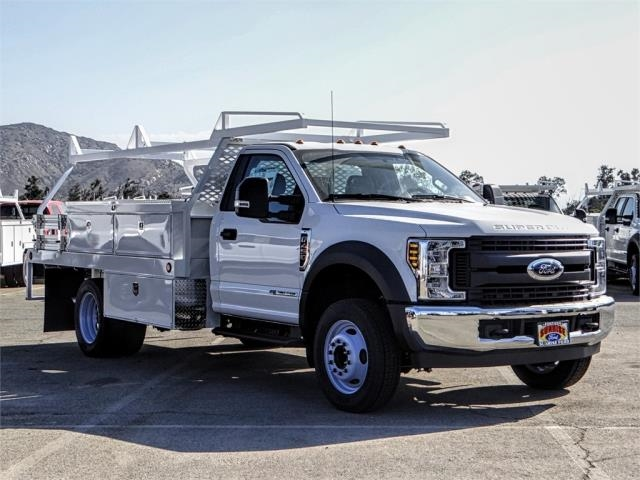 2019 F-450 Regular Cab DRW 4x2,  Scelzi Contractor Body #FK0433 - photo 6