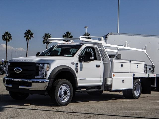 2019 F-450 Regular Cab DRW 4x2,  Scelzi CTFB Contractor Body #FK0506 - photo 1