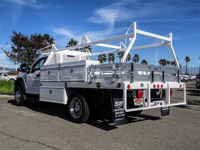 2019 F-450 Regular Cab DRW 4x2,  Scelzi Contractor Body #FK0550 - photo 1