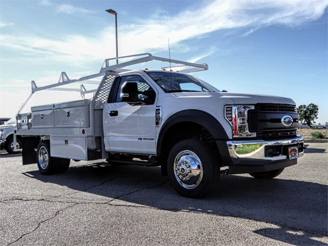 2019 F-450 Regular Cab DRW 4x2,  Scelzi Contractor Body #FK0550 - photo 6
