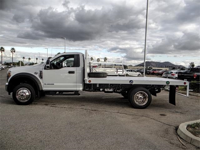 2019 F-450 Regular Cab DRW 4x2,  Scelzi Flatbed #FK0570 - photo 3