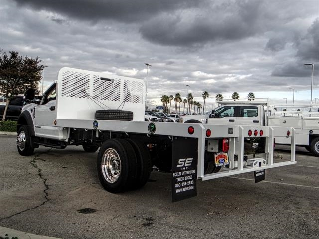 2019 F-450 Regular Cab DRW 4x2,  Scelzi Flatbed #FK0570 - photo 2