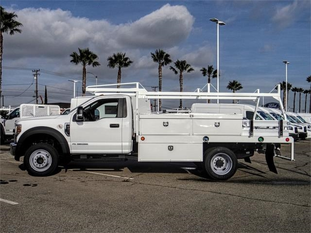 2019 F-450 Regular Cab DRW 4x2,  Scelzi Contractor Body #FK0593 - photo 3