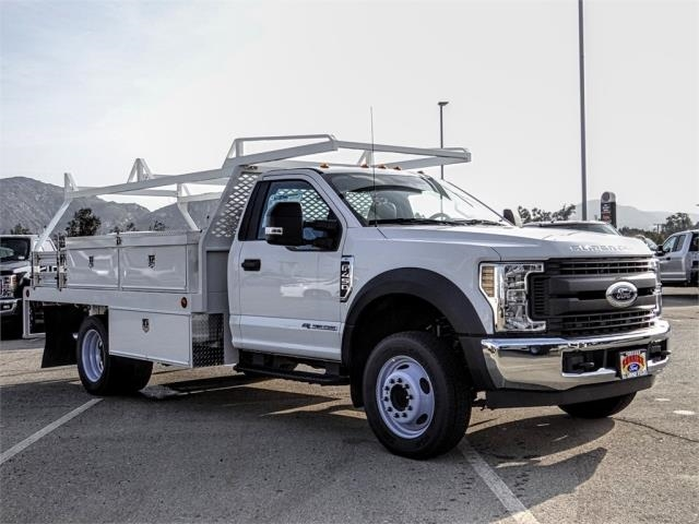 2019 F-450 Regular Cab DRW 4x2,  Scelzi Contractor Body #FK0593 - photo 6