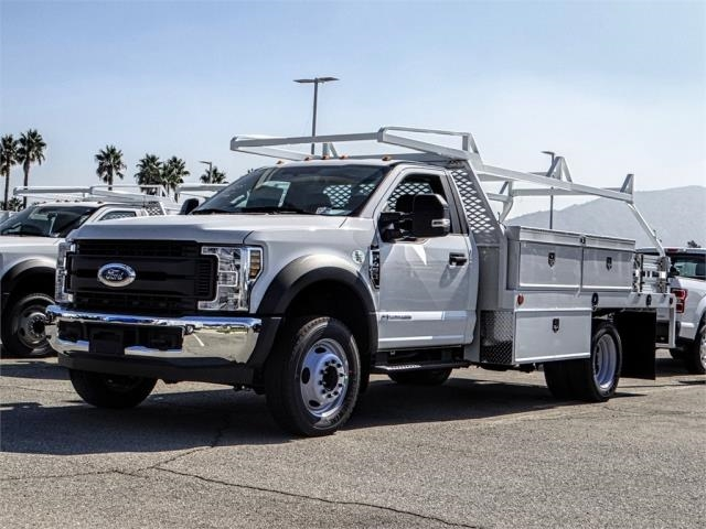 2019 F-450 Regular Cab DRW 4x2,  Scelzi Contractor Body #FK0620 - photo 1