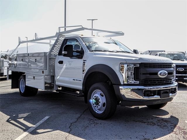2019 F-450 Regular Cab DRW 4x2,  Scelzi Contractor Body #FK0620 - photo 6