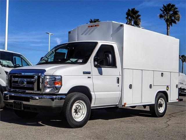 2019 E-350 4x2,  Harbor WorkMaster Service Utility Van #FK0621 - photo 1