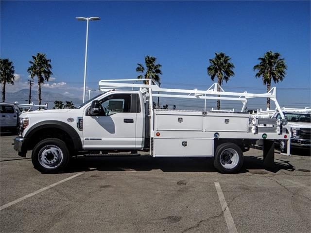 2019 F-450 Regular Cab DRW 4x2,  Scelzi Contractor Body #FK0635 - photo 3