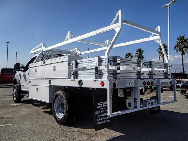 2019 F-450 Regular Cab DRW 4x2,  Scelzi Contractor Body #FK0635 - photo 1