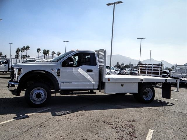 2019 F-550 Regular Cab DRW 4x2,  Scelzi Flatbed #FK0636 - photo 3