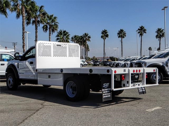 2019 F-550 Regular Cab DRW 4x2,  Scelzi Flatbed #FK0636 - photo 2