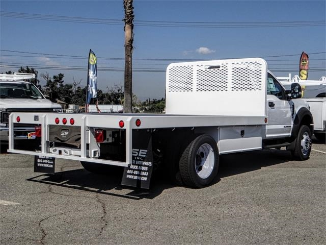 2019 F-550 Regular Cab DRW 4x2,  Scelzi Flatbed #FK0636 - photo 4