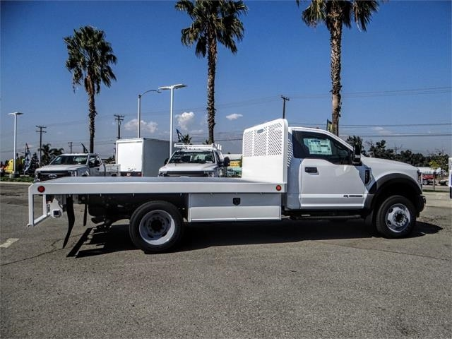2019 F-550 Regular Cab DRW 4x2,  Scelzi Flatbed #FK0636 - photo 5