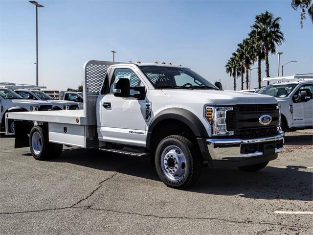 2019 F-550 Regular Cab DRW 4x2,  Scelzi Flatbed #FK0636 - photo 6