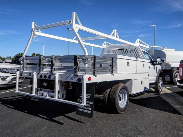 2019 F-450 Regular Cab DRW 4x2,  Scelzi Contractor Body #FK0637 - photo 4