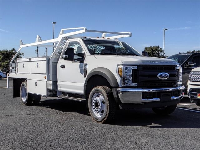 2019 F-450 Regular Cab DRW 4x2,  Scelzi Contractor Body #FK0637 - photo 6