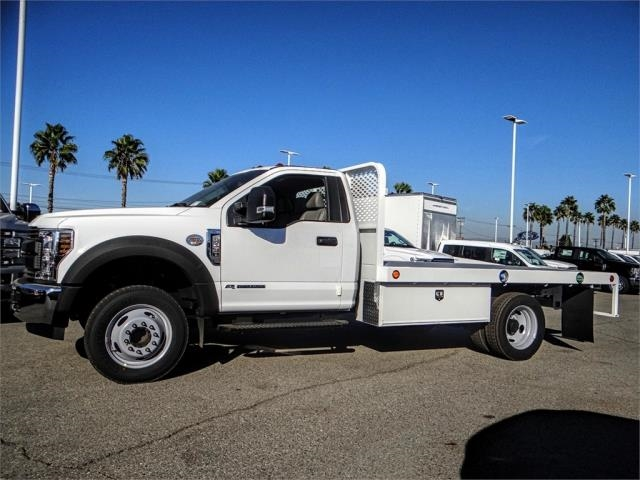2019 F-450 Regular Cab DRW 4x2,  Scelzi Flatbed #FK0666 - photo 3