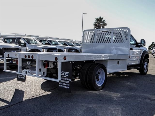 2019 F-450 Regular Cab DRW 4x2,  Scelzi Flatbed #FK0666 - photo 4