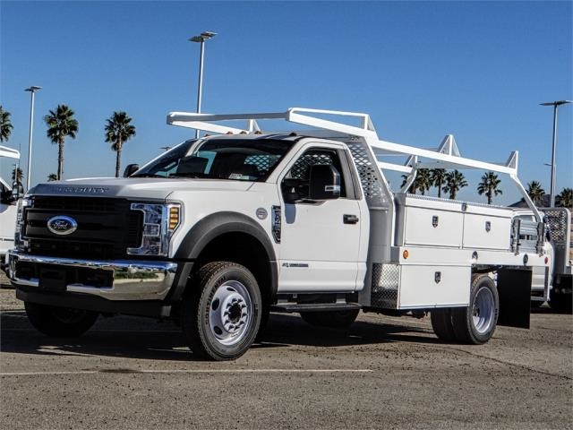 2019 F-450 Regular Cab DRW 4x2,  Scelzi Contractor Body #FK0667 - photo 1