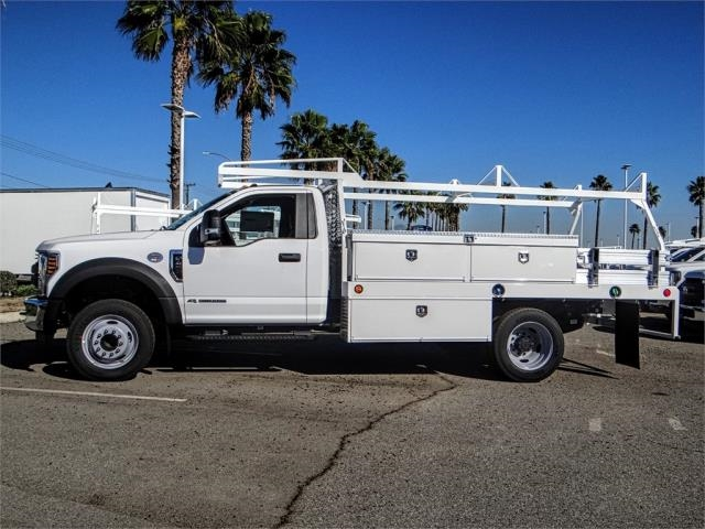2019 F-450 Regular Cab DRW 4x2,  Scelzi Contractor Body #FK0667 - photo 3