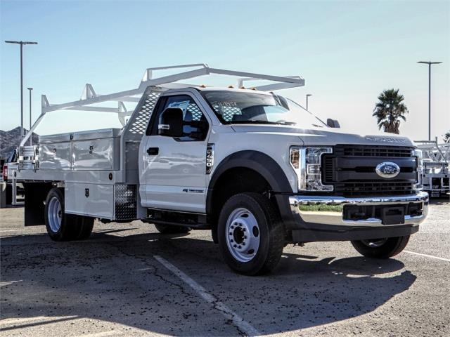 2019 F-450 Regular Cab DRW 4x2,  Scelzi Contractor Body #FK0667 - photo 6