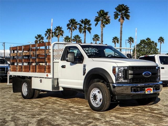 2019 F-450 Regular Cab DRW 4x2,  Scelzi Stake Bed #FK0732DT - photo 6