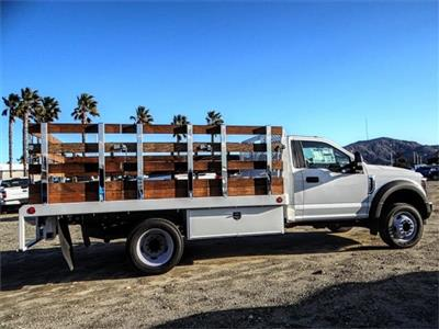 2019 F-450 Regular Cab DRW 4x2,  Scelzi WFB Stake Bed #FK0732DT - photo 5