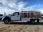 2019 F-450 Regular Cab DRW 4x2,  Scelzi WFB Stake Bed #FK0732DT - photo 3